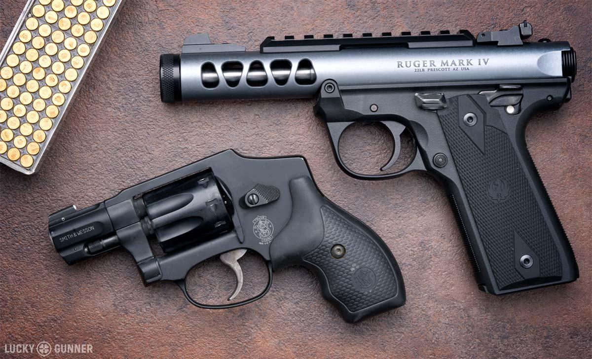 .22 LR pistols