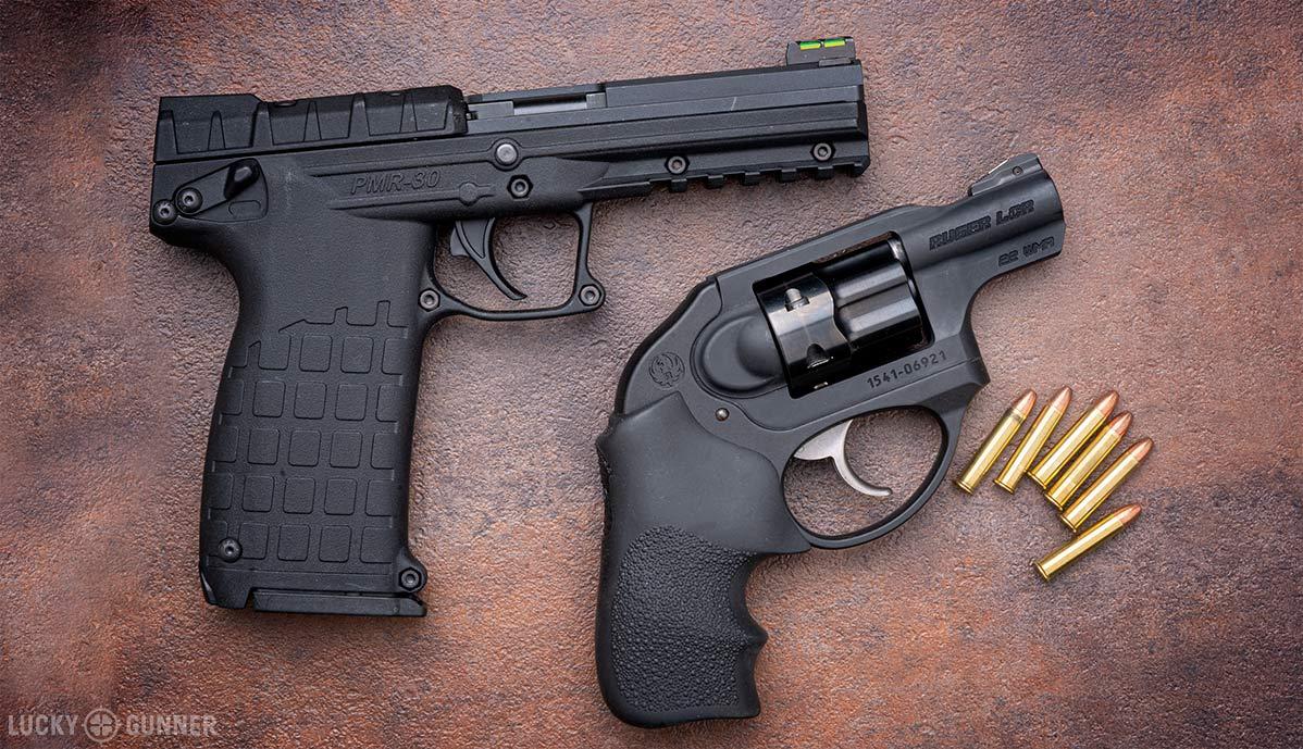 .22 mag pistols