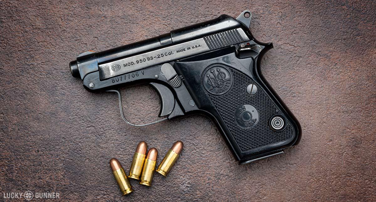 .25 ACP Test Gun