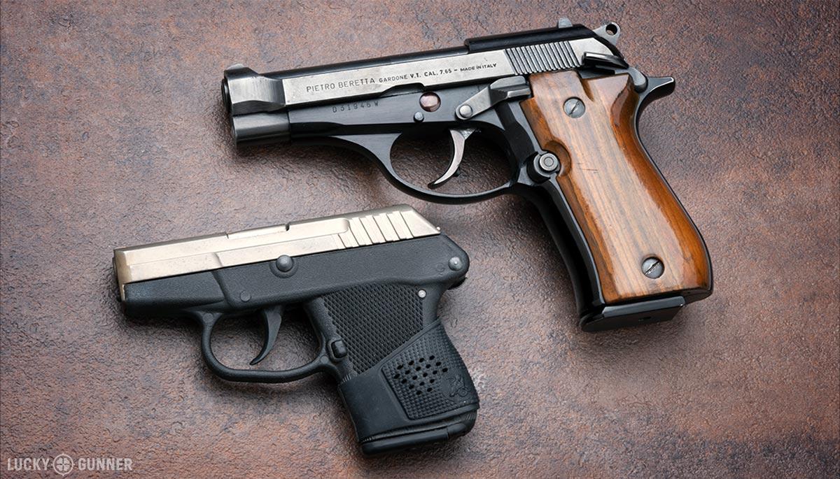 .32 ACP Test Guns