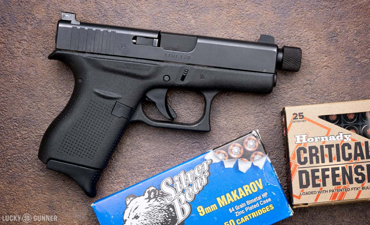9mm Makarov Test Gun