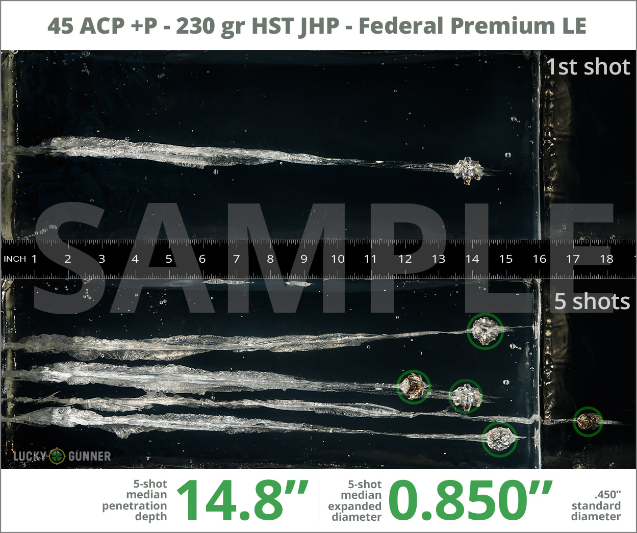 Handgun Self Defense Ammunition Ballistic Testing Data